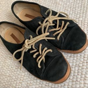 AMAZING Frye suede lace-up sneakers!